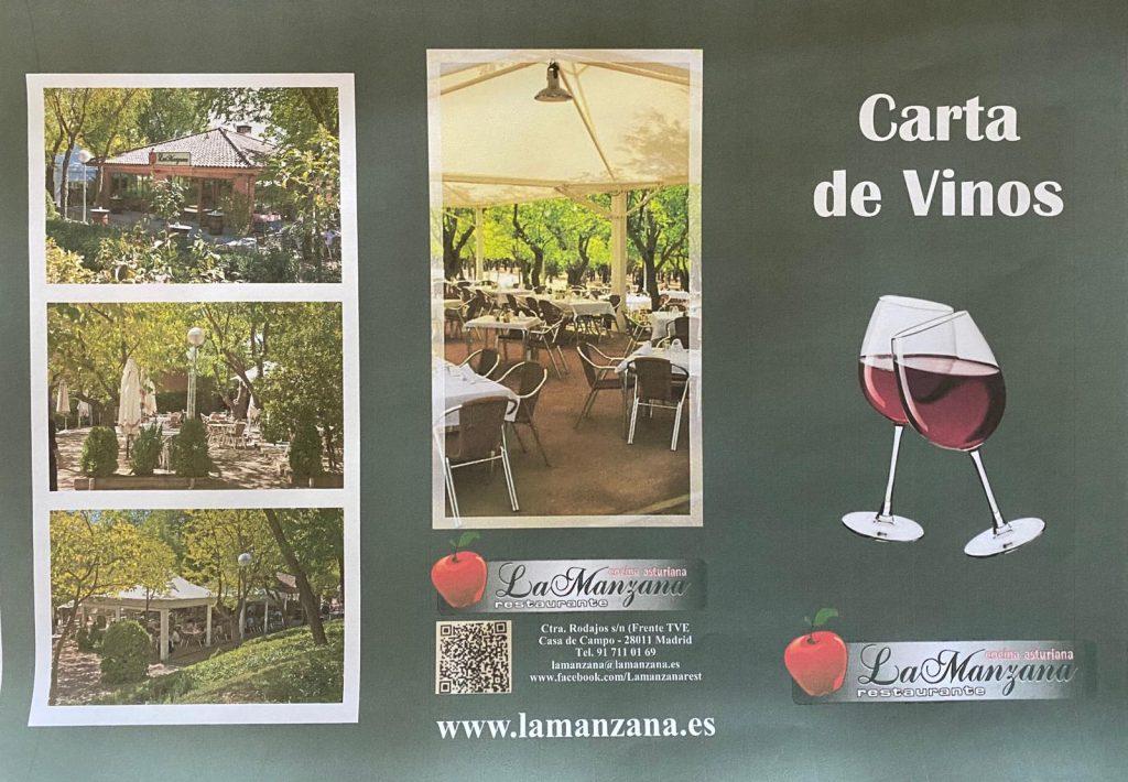 fotos carta de vino